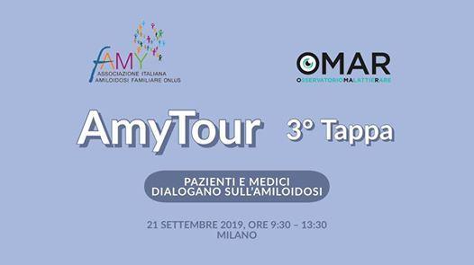 AMY TOUR: PAZIENTI E MEDICI DIALOGANO SULL'AMILOIDOSI